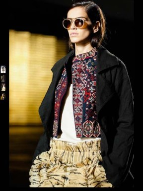 Dries Van Noten fashion forward trendy driven different unique fashion week spring summer 2014 milan paris london nyc newyork trend-13