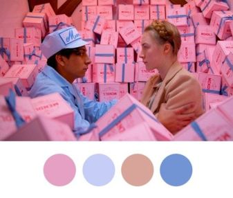 Grand Budapest Hotel Color Chart