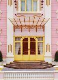 Grand Budapest Hotel door poster