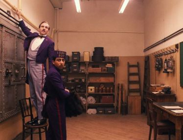The grand budapest Hotel 1 by Wes Anderson