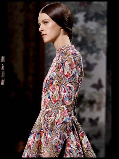 Valentino Couture Evening Fashion Week 2014 Spring Summer
