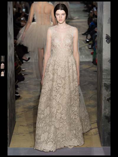Valentino Couture evening Fashion Week 2014 Spring Summer Style.com ...
