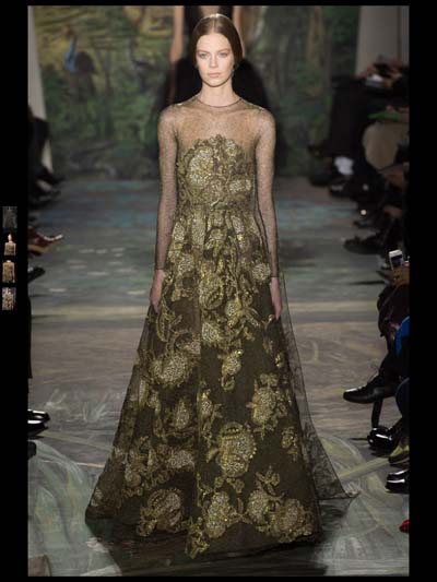Valentino Couture Evening Gowns