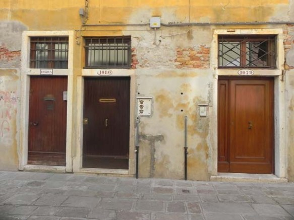 Doors are beautiful in Venice, they speak to you. Italian Architecture is beautiful