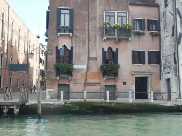 Architecture in venice is breathtaking specially with the beautiful cute little windows and decorations art is in everything romantic