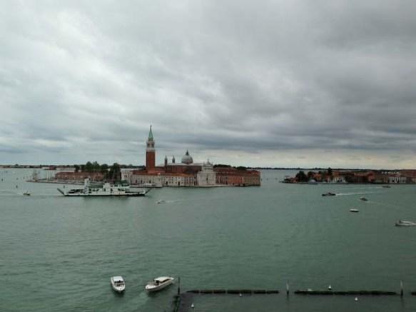 View of San Giorgio Maggiore Island from St. Mark's Campanile