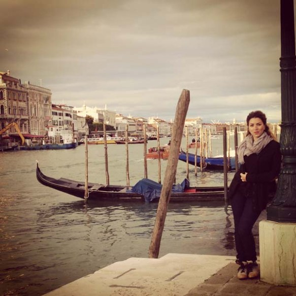 blogger photographer and designer razan masri in venice venezia
