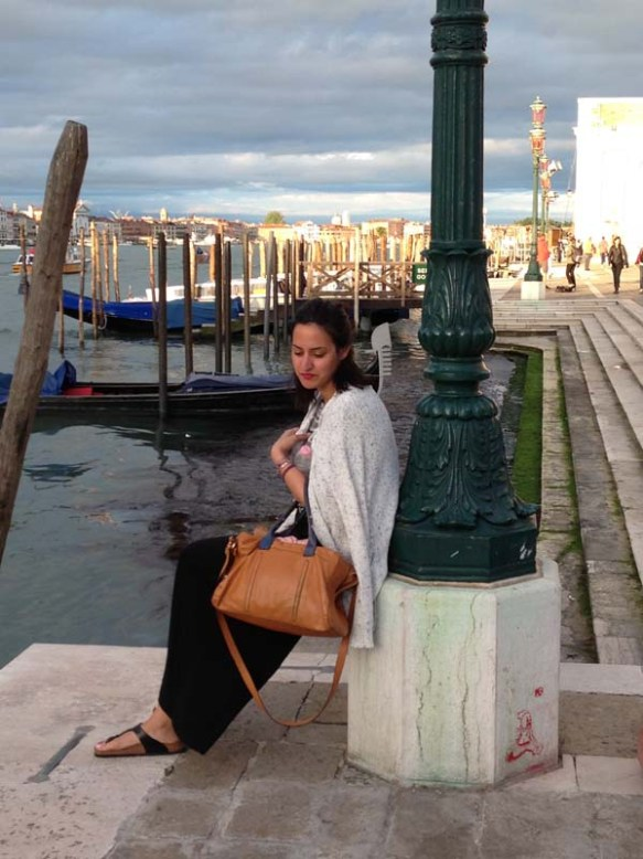 my beautiful friend in venice