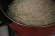 Making Mansaf Recipe rice