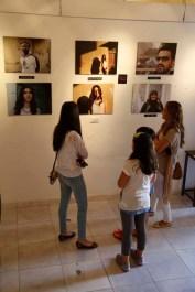 Exhibition of Project Photography organized by Razan Masri Amman Jordan Photographer Ali Saadi