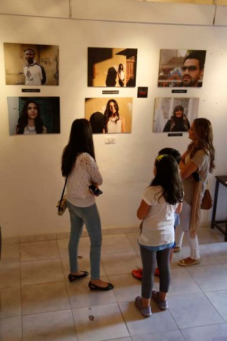 Exhibition of Project Photography organized by Razan Masri Amman Jordan Photographer Ali Saadi