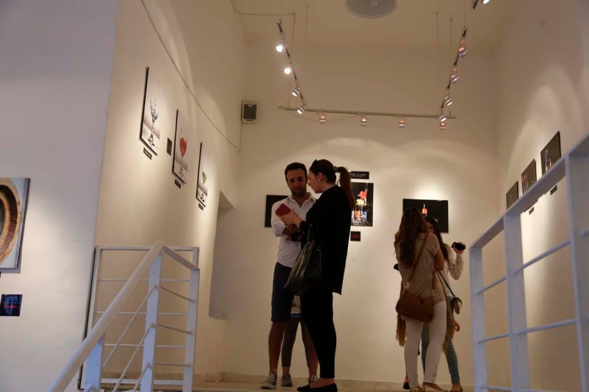 Exhibition of Project Photography organized by Razan Masri Amman Jordan Photographer Bashar Alaeddin