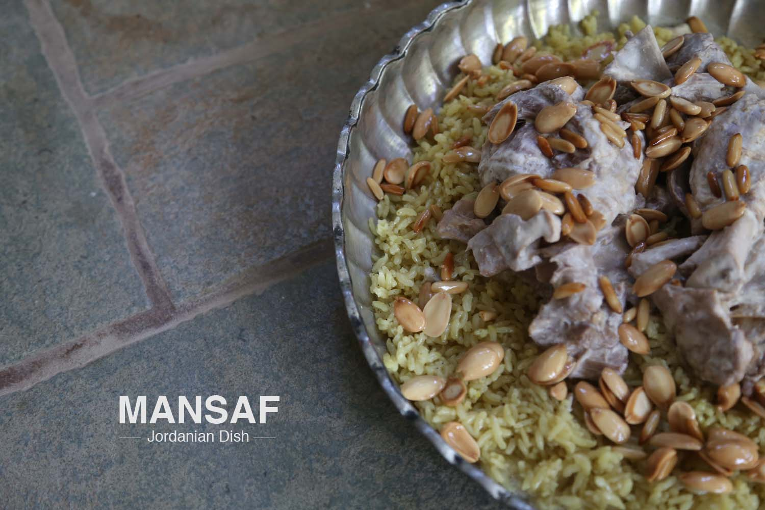 Mansaf razan masri food art styling for a jordanian dish mansaf made of sheep meat rice jameed and forumfinder Images