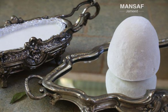 Food Art & Styling traditional Jordanian dish Jameed Mansaf
