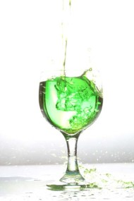 Project photography product fashion green liquid photo shoot