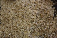 Making Freekeh Middle Eatern Arabian Cuisine raw