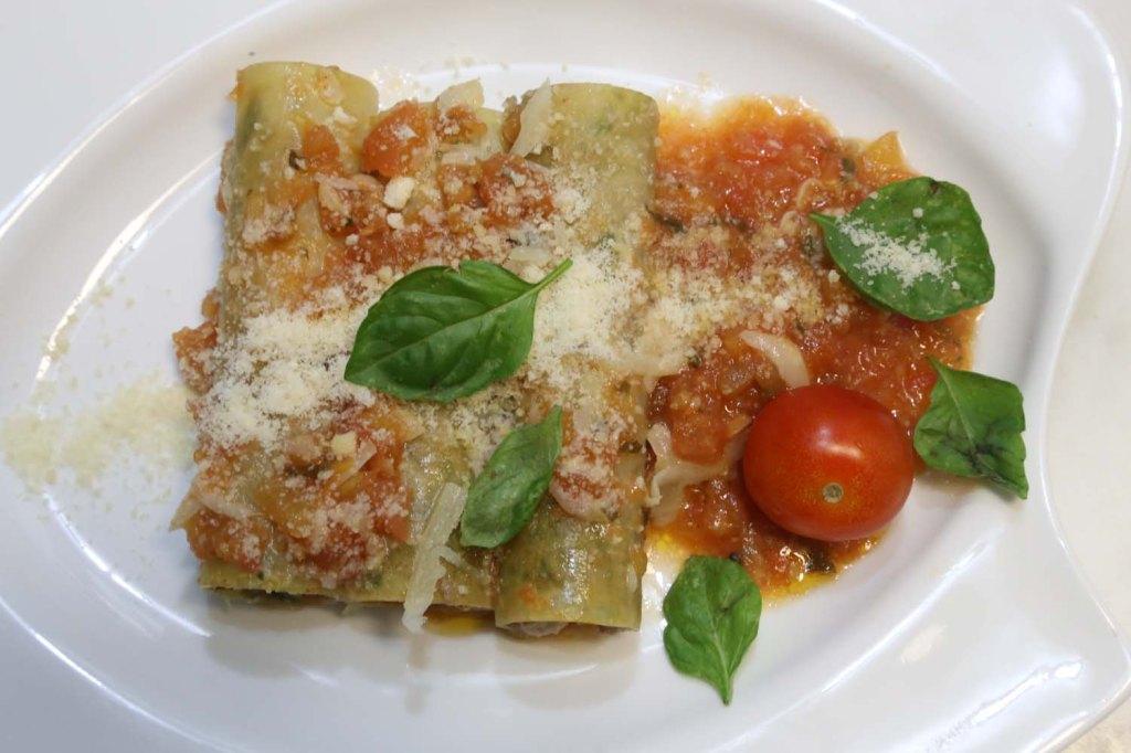 Cannelloni final dish SUZIE S KITCHEN