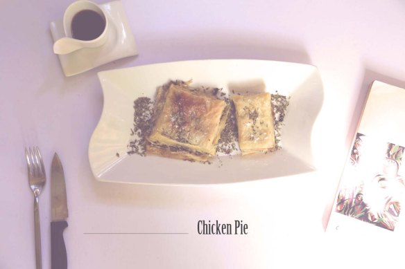 Chicken-Pie-Suzies-Kitchen-Recipe-Mushrooms-FoodArt-Food-Styling-Knife-Fork-text