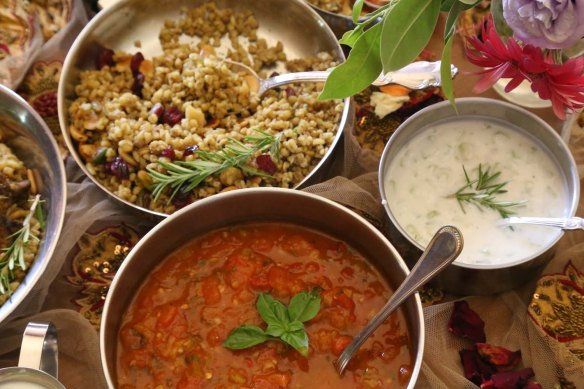 Freekeh a Middle Eatern dish styled to perfection Foodart