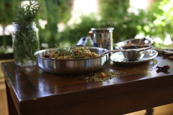 Freekeh a Middle Eatern dish styled to perfection