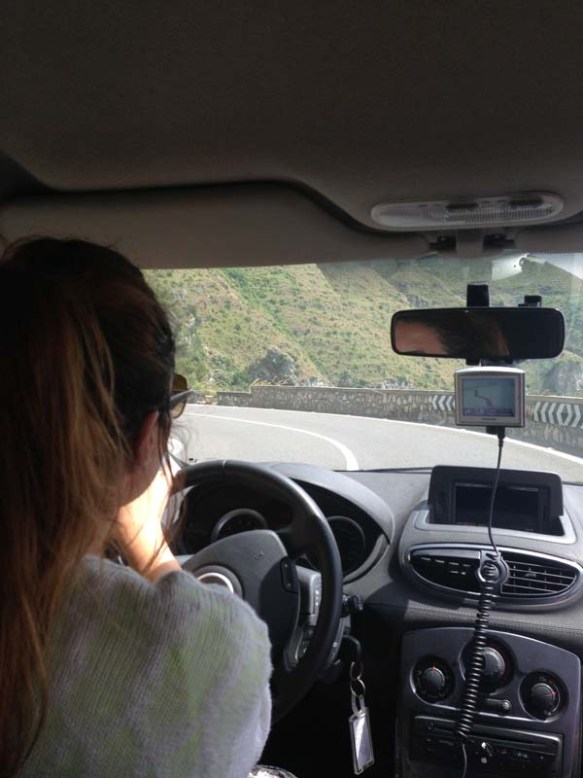 A drive by the Amalfi Coast Italy