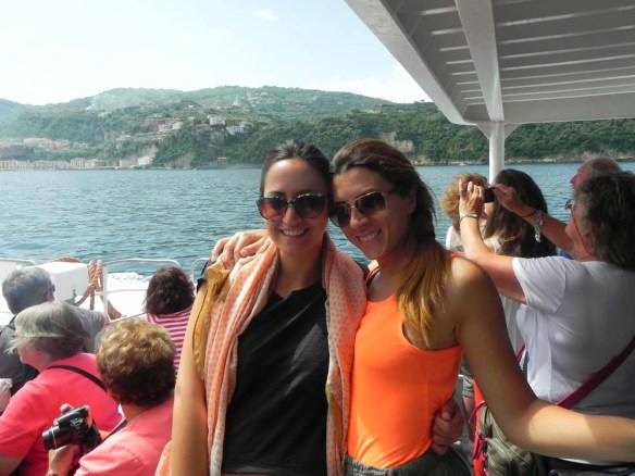 Going to Capri by Ferry through Amalfi Coast Italy