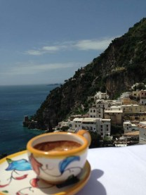 Cafe Espresso at Positano Amalfi