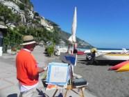 Positano Amalfi Coast Italy Painting