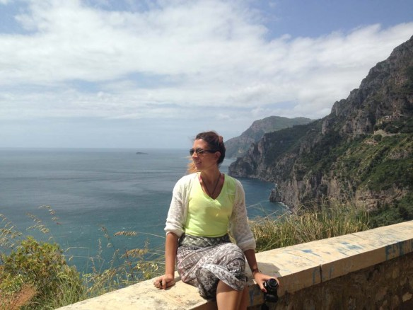 Happy in Amalfi Coast