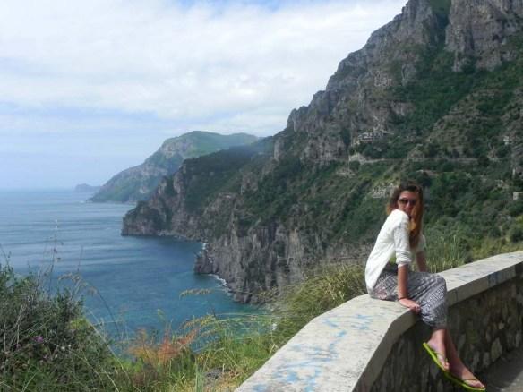 Razan Masri Hypnotic Amalfi Coast drive in Italy