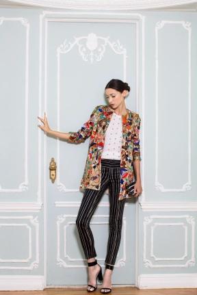 Colored blazer New York Fashion Week Spring Summer 2015
