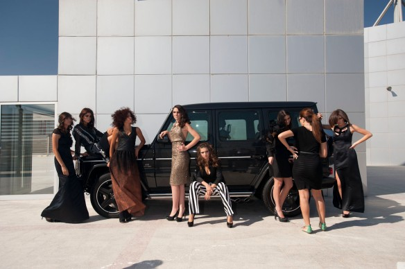 Making of Mercedes-Benz Fashion Week in Amman