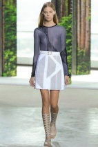 White skirt Spring Summer 2015