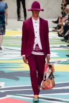 Burgundy Pants spring summer 2015