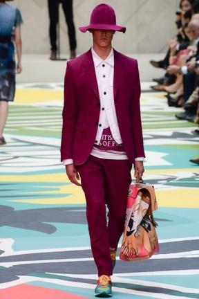 Burgundy Pants spring summer 2015
