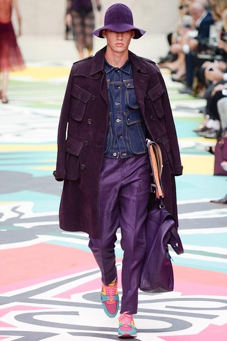 Purple Pants spring summer 2015
