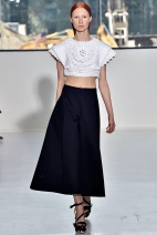 Black skirt Spring Summer 2015