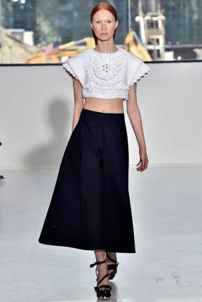 Black skirt Spring Summer 2015