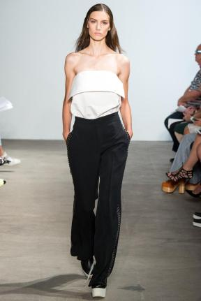 Classic chic top and pants spring summer 2015