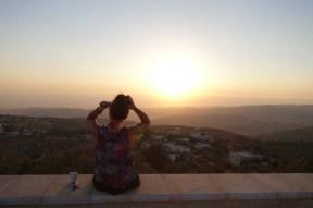 Razan Masri sunset