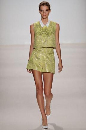 Lime skirt Spring Summer 2015