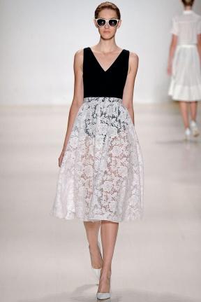 White tul skirt Spring Summer 2015