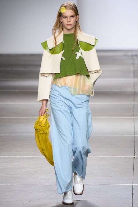 Baby blue Pants spring summer 2015