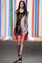 Colored dress Spring Summer 2015