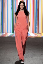 Orange outfit classic chic spring summer 2015