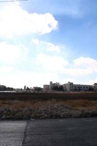 Blue skies Amman Jordan