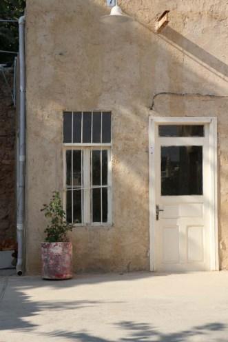White door Amman Jordan
