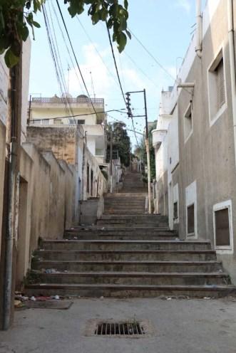 Old stairs Amman Jordan