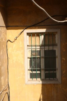 Broken window