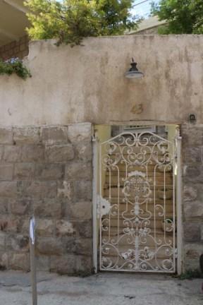 White victorian door